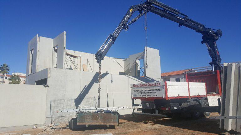 instalacion pared hormigon prefabricado
