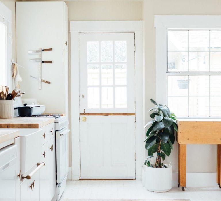 luz natural en cocina