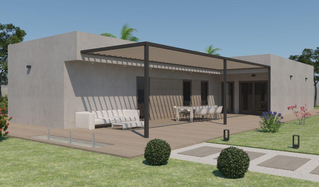 Modelo Mérida. Casa prefabricada.
