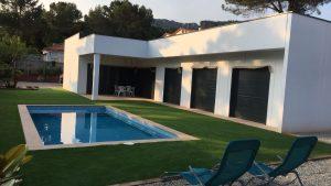 Modelo Badajoz piscina